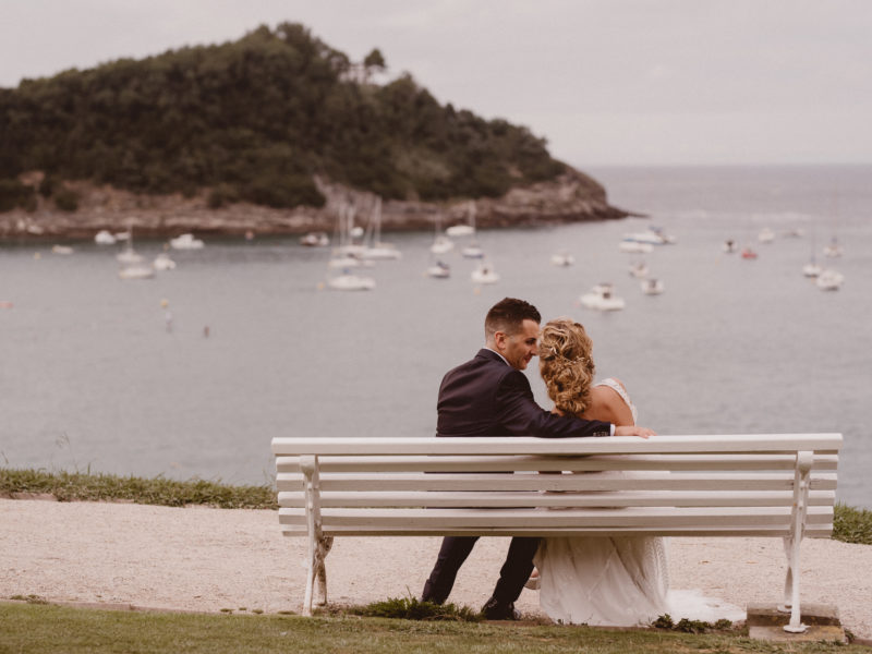 Wedding & Event Planner - Destination Wedding en San Sebastián - Boda Anabel y Ruben Portada